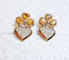 Heart  Earrings  Jewel 80s Heart   Wedding ORECCHINI CUORE