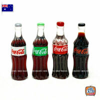 Coles Little Shop 2 fan favourites - Mini Coke Bottles Set of 4 | miniature 1:12