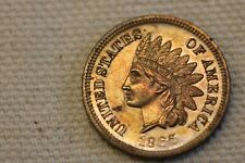 1865 Indian Head Cent, Scarce Proof!