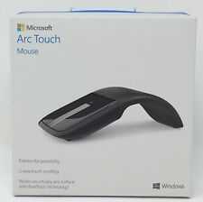Microsoft Arc Touch Wireless Mouse Bluetrack 2 Way Touch Scrolling RVF-00052