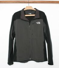 THE NORTH FACE Black & Gray Soft Shell Jacket Men's Sz. L