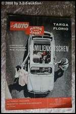 AMS Auto Motor Sport 11/62 TVR Grantura Opel Caravan Rambler Ambassador
