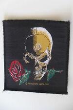 The alchemy Carta Skull Rose Vintage 1989 patch Sew On