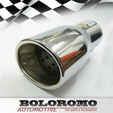 Car Exhaust Tip Muffler Trim Pipe Chrome Fits Ford Focus Mondeo Escort Transit