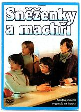 Snezenky a Machri (Snowdrops and Aces) DVD Czech Comedy 1982 English subtitles