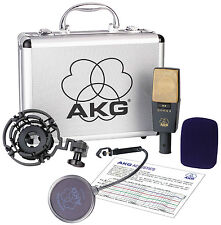 AKG C 414 XL II Condenser Reference Microphone.  U.S. Authorized Dealer