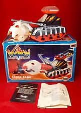 1984 VOLTRON SKULL TANK Panosh Place toy Complete action figure vehicle MIB