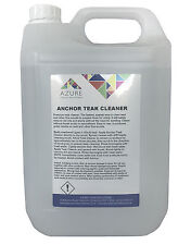 Azure Premium Anchor Teak Wood Cleaner Removes Oils Stains Easy To Use - 5 Litre