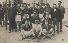 FOOTBALL JUEGOS OLIMPICOS 1924  EQUIPE DE LUXEMBOURG  316 REAL PHOTO
