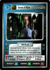 Star Trek CCG Voyager Complete Set of 218 all AIs and UR incl GEM MINT unplayed
