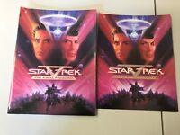 MOVIE PRESS KIT STAR TREK V THE FINAL FRONTIER PUBLICITY PHOTOS HANDBOOK 1989