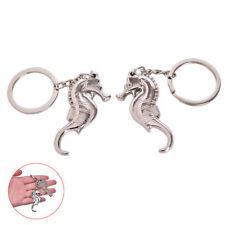 2Pcs seahorse keychains key rings bottle opener keychains & key hol-wu