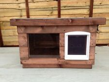 DELIVERED FULLY ASSEMBLED MEDIUM Dog/Cat Kennel ~ Dog House box/ with window