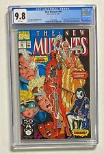 NEW MUTANTS #98 Marvel Comics 1991 CGC 9.8 DEADPOOL Wade Wilson 1st Appearance