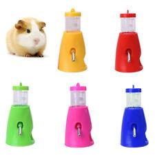GC- 80ml Pet Hamster Mice Water Bottle Holder Dispenser Base Hut Nest Feeder Hid