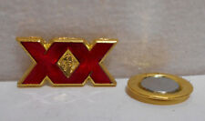 """Lot of 5 New Dos Equis Cerveza Xx Beer Magnetic Pins 1"""" x 1/2"""""""