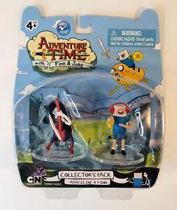 Adventure Time Collectors Pack Marceline & Finn Figures Cartoon Network NIB