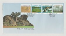 AUSTRALIA POST PANORAMA OF AUSTRALIA FIRST DAY COVER  17/10/1988 MINT