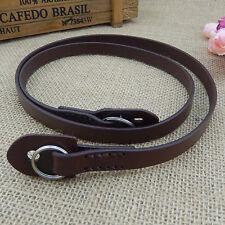 1Pcs Leather Neck Strap Black Mirrorless Camera Neck Shoulder Str Gift