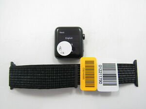 Apple Watch Nike+ S3 42MM A1861 Unlocked Check IMEI Great Condition -BT6233