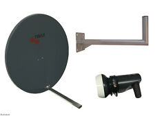 Universal Triax TD110 Satellite Dish(110cm) With Wall Mount & Single LNB