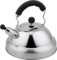 Buckingham Stove Top Induction Gas Whistling Kettle 3 L - Stainless Steel