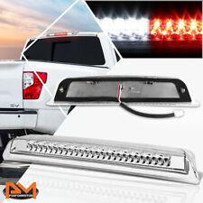 For 04-16 Titan/Frontier LED Third 3RD Tail Brake Light W/Cargo Lamp Bar Chrome
