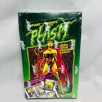 1993 The River Group Defiant Plasm Zero Issue Trading Card Box (36 Packs)