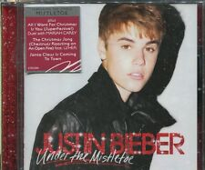 JUSTIN BIEBER - UNDER THE MISTLETOE - CD