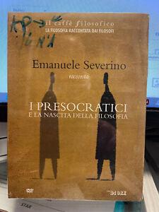Emanuele Severino racconta I presocratici e la nascita delle filosofia DVD