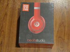 New  Beats by Dre Studio 2.0 Headphones RED B0500 MH7V2AM/A 848447001163 - WIRED
