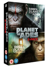 Rise of the Planet of the Apes/Dawn of the Planet of the Apes DVD 2-pack
