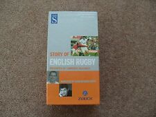 WHS Story of English Rugby Box Set of 2 Videos Updated version 2003 Brand new