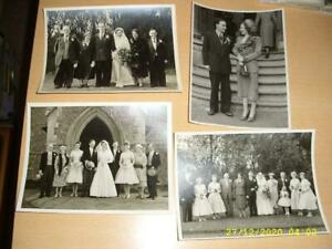 COLLECTION OF VERY LARGE WEDDING PHOTOGRAPHS