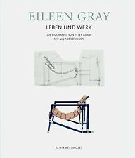 Fachbuch Eileen Gray, Leben und Werk der Designerin, REDUZIERT statt 78€, NEU