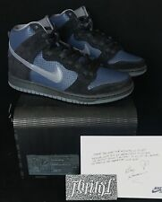 NEW NIKE SB DUNK HIGH SAMPLE FRIENDS FAMILY GINO BLACK DS PIGEON SUPREME SIZE 9