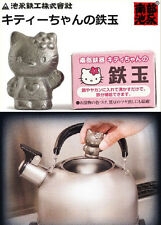 Japanese Cast Iron Food Supplement Hello Kitty 3D Figurine Statue Ornament Decor