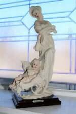 Large Giuseppe Armani Figurine Mother and Child 1987