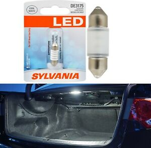Sylvania Premium LED Light De3021 White One Bulb Trunk Cargo Replace Upgrade OE