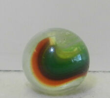 8715m Beautiful Vintage Hybrid Akro Agate Popeye Marble .71 Inches