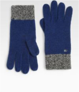 Marc By Marc Jacobs Men's Marine Multi Gloves One Sz 68140