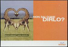 cartolina pubblicitaria PROMOCARD n.3999 WIND TELEFONINO CELLULARE