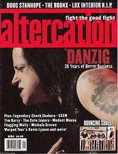 Altercation Issue #24 Danzig - Doug Stanhope - The Bronx - Lux Interior R.I.P.