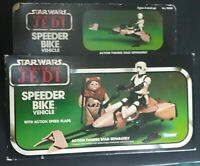 Vintage Kenner 1983 Star Wars Return Of The Jedi Speeder Bike MISB Sealed Taiwan