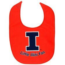 Illinois Fighting Illini - Little Fan All Pro Baby Bib