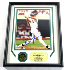Ben Grieve Signed Display Photo and Coin Highland Mint Framed Auto DF024987
