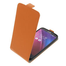 Funda Para Asus Zenfone 2 Láser ZE500KL Tipo Flip Funda para Móvil Naranja