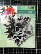 New Penny Black Rubber Stamp  LOVE'S GLOW FLOWER BLOOM Free USA ship cling