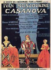 Casanova - 1927 - Ivan Mozzhukin Alexandre Volkoff Historical Silent Film DVD