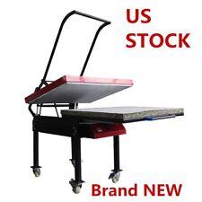 US Stock 80 x 100cm 220V Large Format T-shirt Sublimation Heat Press Machine NEW